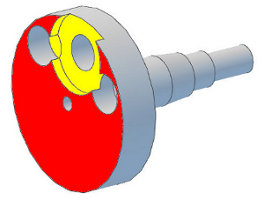Analysis and Designs Crankshaft with shoulders only in big end rod zone - Crankshaft Balance Design