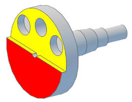 Analysis and Designs Crankshaft with shoulders on the entire cheek - Crankshaft Balance Design