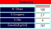 Dati benzina - SET-UP TWO STROKE by NT-Project